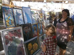 Выставка картин в Джанкое