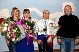 С Инной Бушевской и Сергеем Куликом