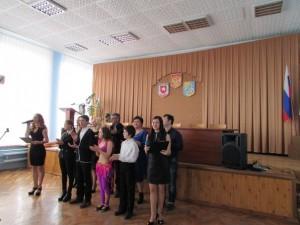 Участники праздничного концерта